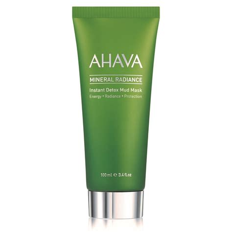 What Is The Point Of A Detox Mask by Ahava Mineral Radiance Instant Detox Mud Mask
