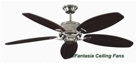 Fantasia Ceiling Fans by Fantasia Elite Fans 114338 52in Alpha Brushed Nickel