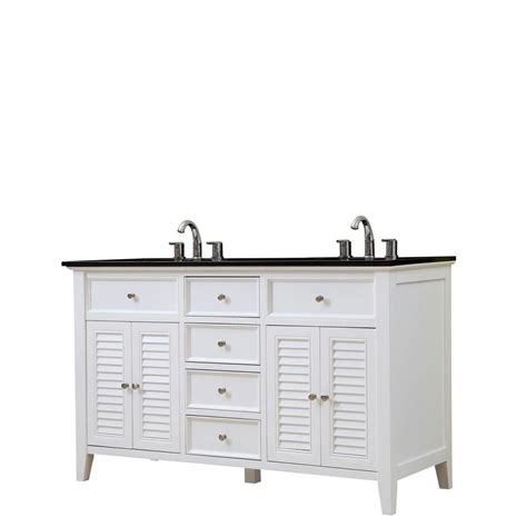 Vanity Direct by Direct Vanity Sink Shutter 60 In Vanity In White With