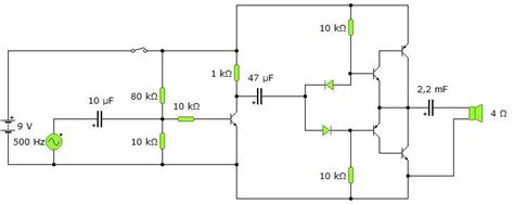bipolar transistor als verstärker show your projects part 7 forum circuits