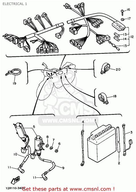1981 yamaha xs400 wiring diagram photos electrical