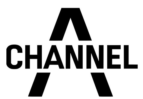 a channel file channel a logo black type svg wikimedia commons