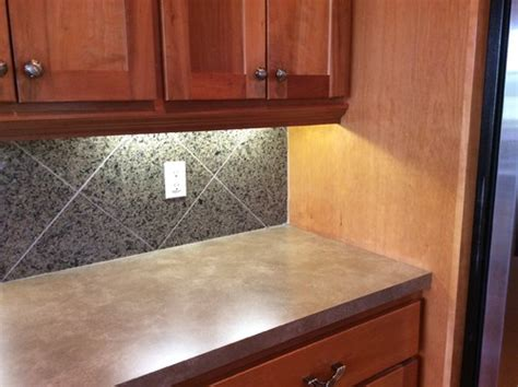 types of countertops 2 different types of countertops in kitchen