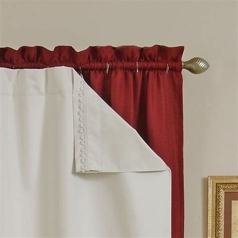 Blackout Liners For Curtains Blackout Thermal Curtain Liners Diy