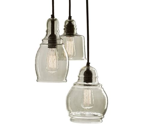 Paxton Glass 3 Light Pendant Pin By Norris On Kitchen Pinterest