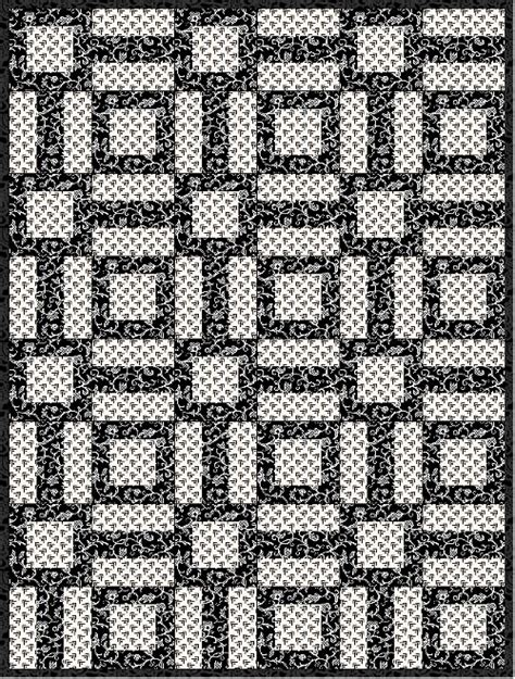 black and white quilt patterns for beginners black and white quilt pattern archives fabricmomfabricmom