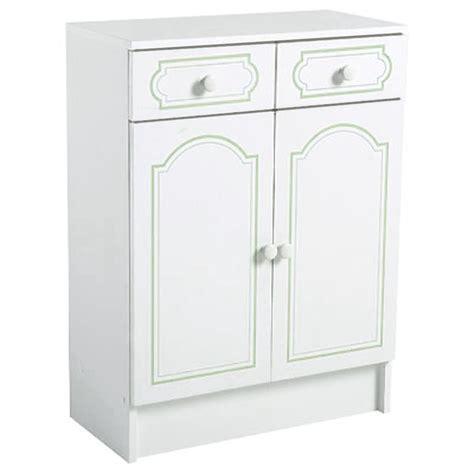 meuble bas 2 portes 2 tiroirs salle de bain ile
