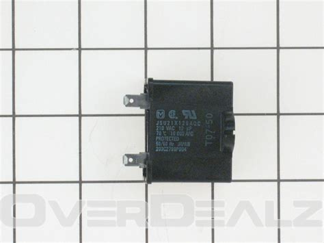 ge refrigerator capacitor genuine wr62x79 kenmore refrigerator run capacitor ebay