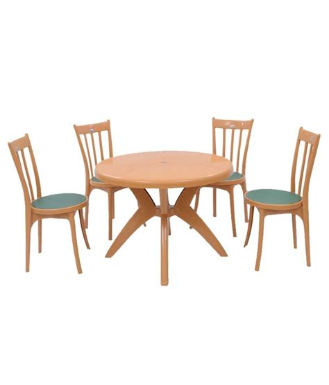 Supreme Set Of 4antik Without Arm Chair 1marina Round Supreme Dining Table