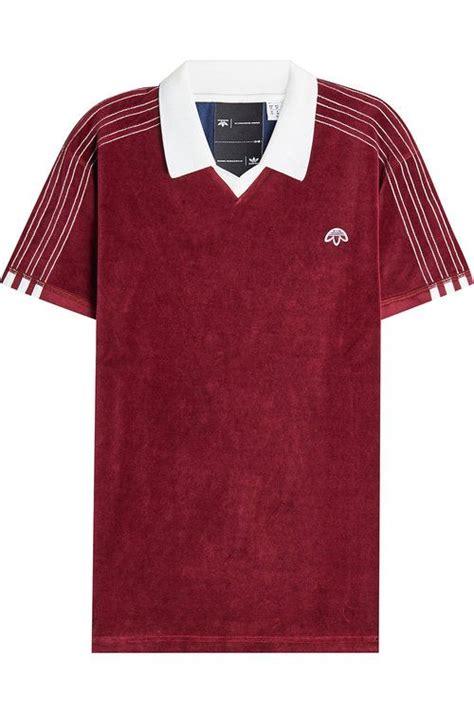 polo shirt adidas by arvin cloth adidas originals by wang velour polo shirt