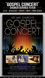gospel flyer template gospel concert lights flyer template on behance