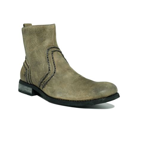 bed stu boots bed stu revolution boots in gray for men black greenland