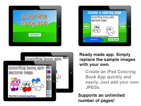 create templates for pages ipad coloring book ipad app template objective c uikit