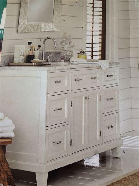 pottery barn cabinets bathroom pottery barn bathroom cabinet trim carpentry pinterest