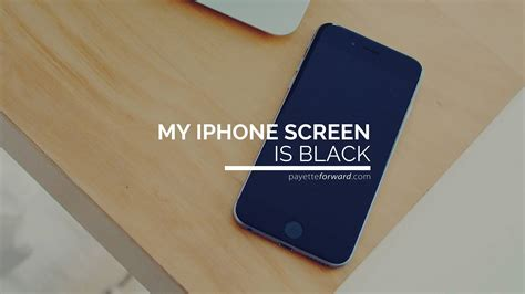 why is my iphone my iphone screen is black here s the real reason why