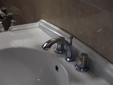 replace  leaky bathroom faucet hgtv