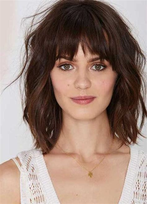 hairstyles bangs 2017 best 15 bangs hairstyles you need to see