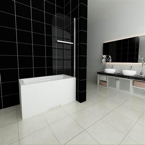 pivot bath shower screen pivot shower bath screen glass door panels aica bathrooms