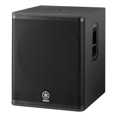 Speaker Aktif Yamaha Dsr 118w Yamaha Dsr 118w 171 Active Pa Speakers