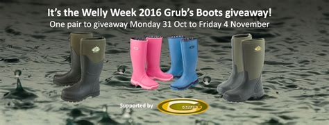 Fost Grant Pair A Day Giveaway Day 4 by It S The Welly Week Grub S Boots Giveaway R A B I