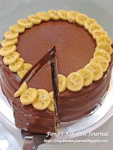 schokoladen bananen kuchen fong s kitchen journal banana chocolate cake