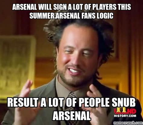 Arsenal Memes - the gallery for gt arsenal sucks meme