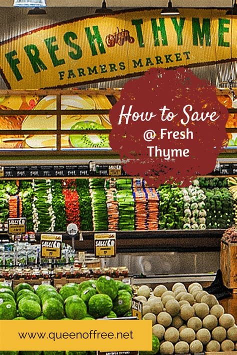 Fresh Thyme Market Gift Card - give away 25 fresh thyme farmers market gift card