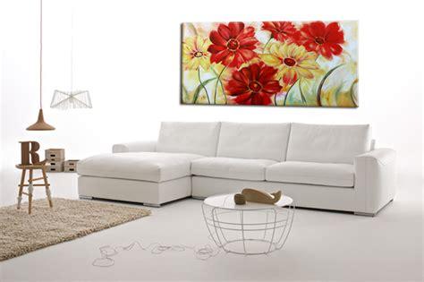 quadri moderni fiori su tela quadri ad olio fiori kk15 187 regardsdefemmes