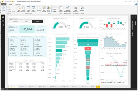 what is portfolio slicer for power bi and how to use it