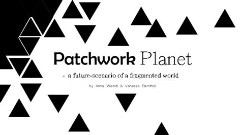 Patchwork Planet - b 228 rnthol wiendl 2015 patchwork planet