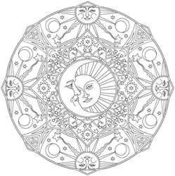 offerings of a year of moon mandalas books the best mandala coloring books for adults mandalas