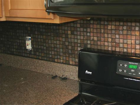 install kitchen backsplash installing kitchen tile backsplash hgtv