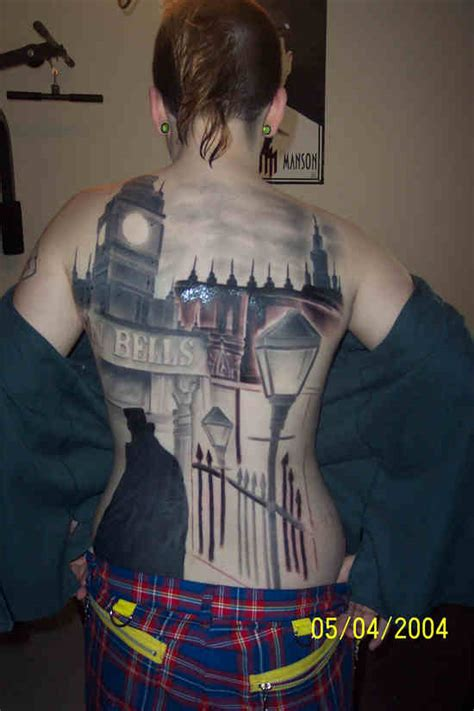 jack the ripper tattoo the ripper backpiece picture