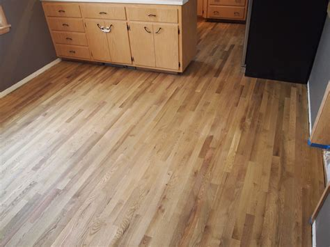 Old Linoleum to New Hardwood!   Natural Accent Hardwood Floors
