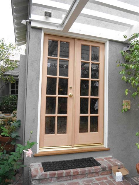 french doors exterior outswing lowes french doors pella