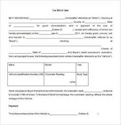 car sale document template bill of sale word document vlashed