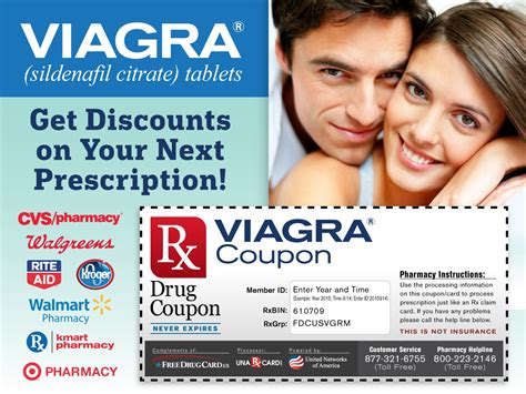 Discount Coupon For Viagra by Erectile Dysfunction Prescription Coupons With Pharmacy Discounts
