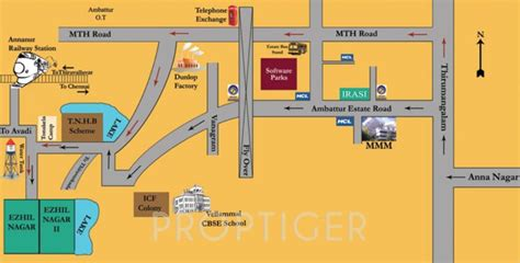 layout plan of surya nagar phase 2 1841 sq ft plot for sale in irasi properties ezhil nagar