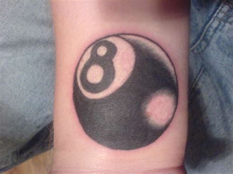 eight ball tattoo designs and eight ball tattoo meaning
