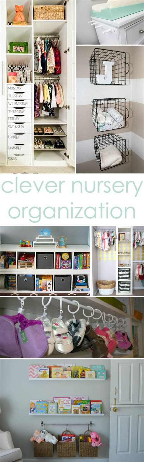 organization ideas clever nursery organization ideas project nursery