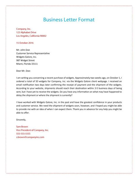Business Letter Templates Resources Images 35 Formal Business Letter Format Templates Amp Examples Template Lab