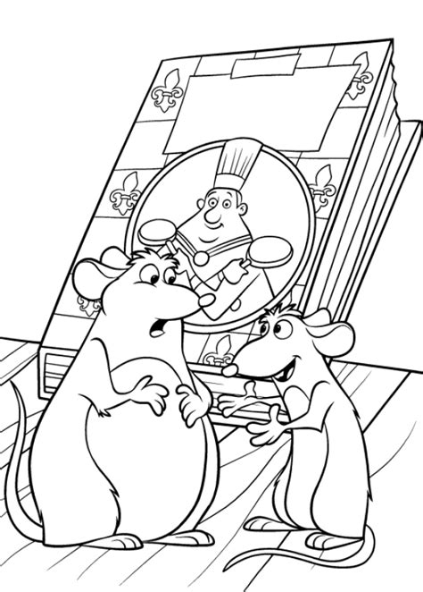 coloring page ratatouille coloring pages 26
