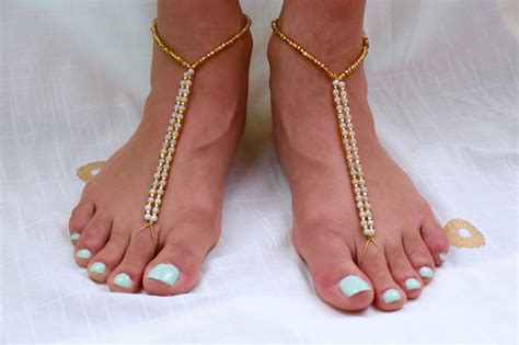 how to make beaded barefoot sandals diy barefoot sandals for a wedding