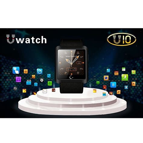 Smartwatch U10 For Ios And Android u10 smartwatch for ios and android black