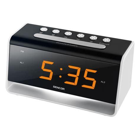 clock radio with light alarm clock with led light sdc 4400 sencor let