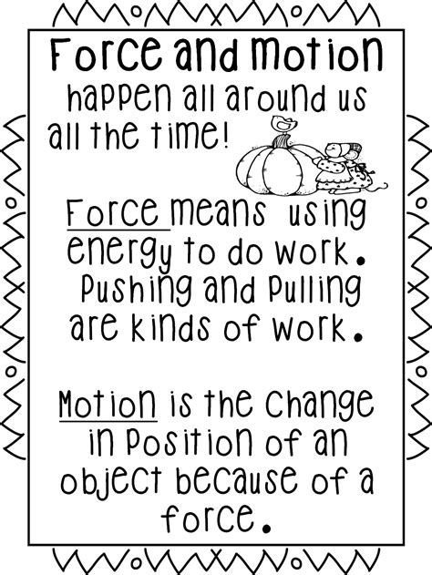 On Science Forces And Motion grade wow falling for and motion
