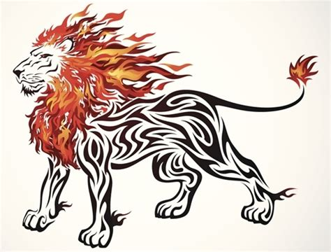 simple lion tattoo designs designs