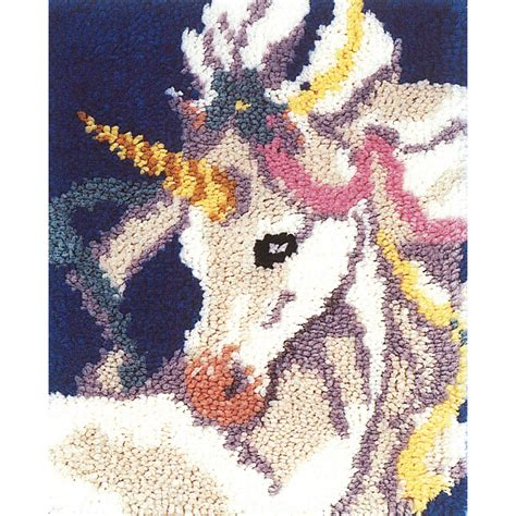 where can i buy a latch hook for crotchet braids latch hook kit 15 quot x18 quot sweet unicorn