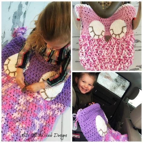 car seat cozy knitting pattern sleepy owl car seat cozy crochet pattern by mjsoffthehook
