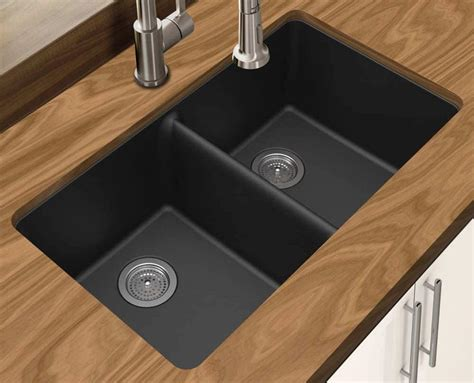 black granite composite sink types of kitchen sinks read this before you buy